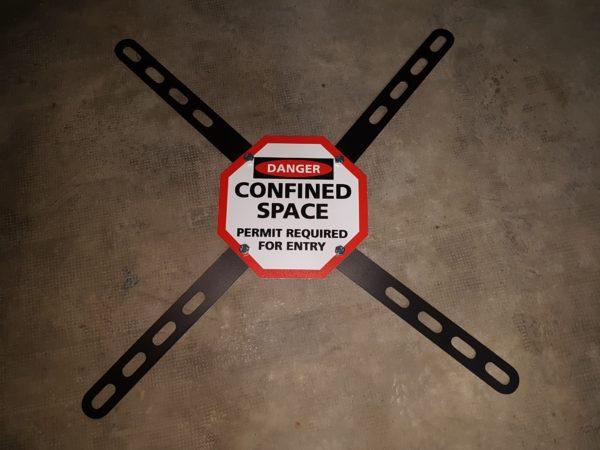 señal espacio confinado
