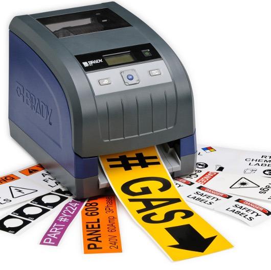 impresora de etiquetas adhesivas industriales