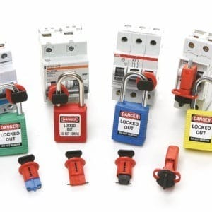 Dispositivo de bloqueo de riesgo eléctrico