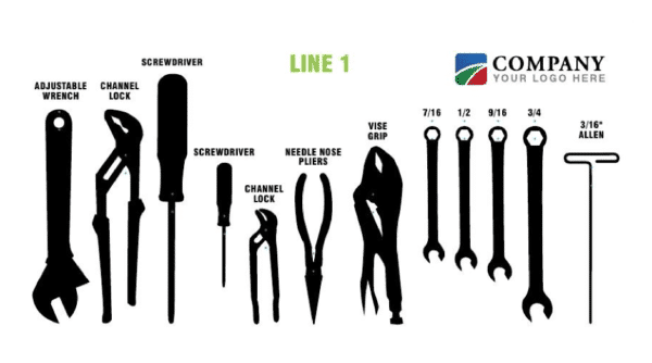 panel para colgar herramientas