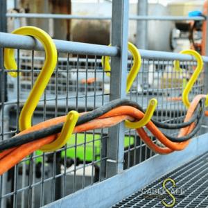 Organización y seguridad de cables