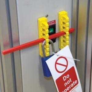 Dispositivos de bloqueo de riesgo mecánico