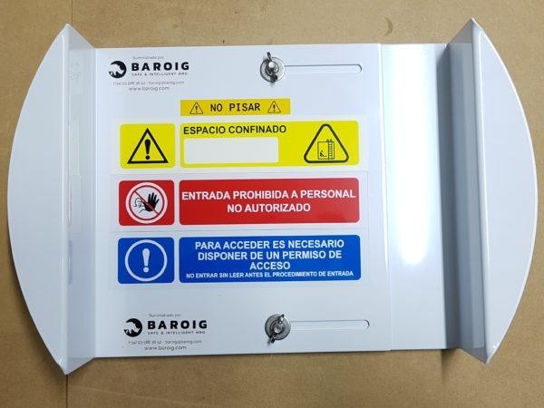 Tapas para arquetas y espacios confinados BARRI-KD-O