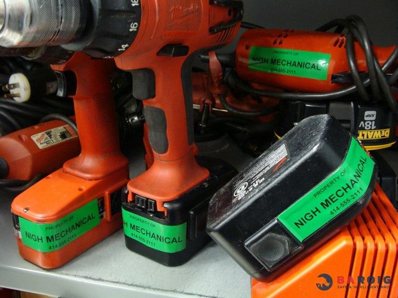 Marcado de máquinas, válvulas, instrumentación y equipos con impresoras Brady