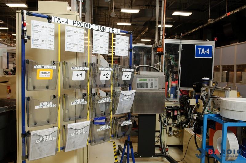 Etiquetado lean y 5S con impresoras Brady