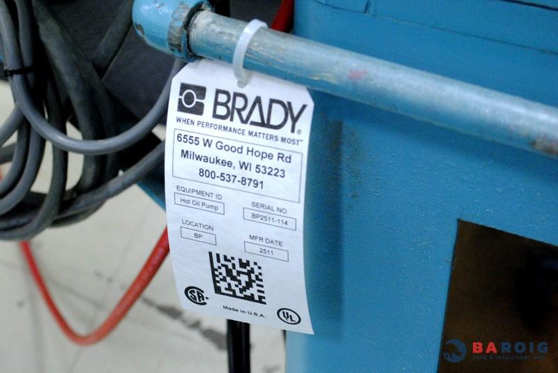 Tarjetas no adhesivas para identificación con impresoras Brady