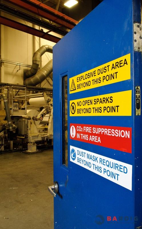 Señalización de seguridad con impresoras Brady