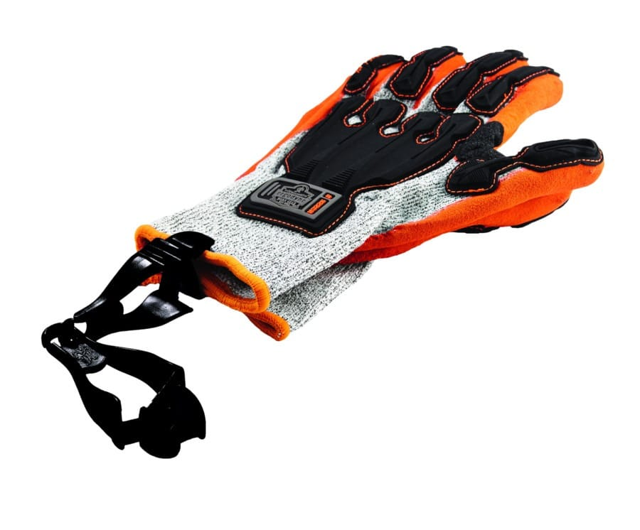 gancho sujeta guantes