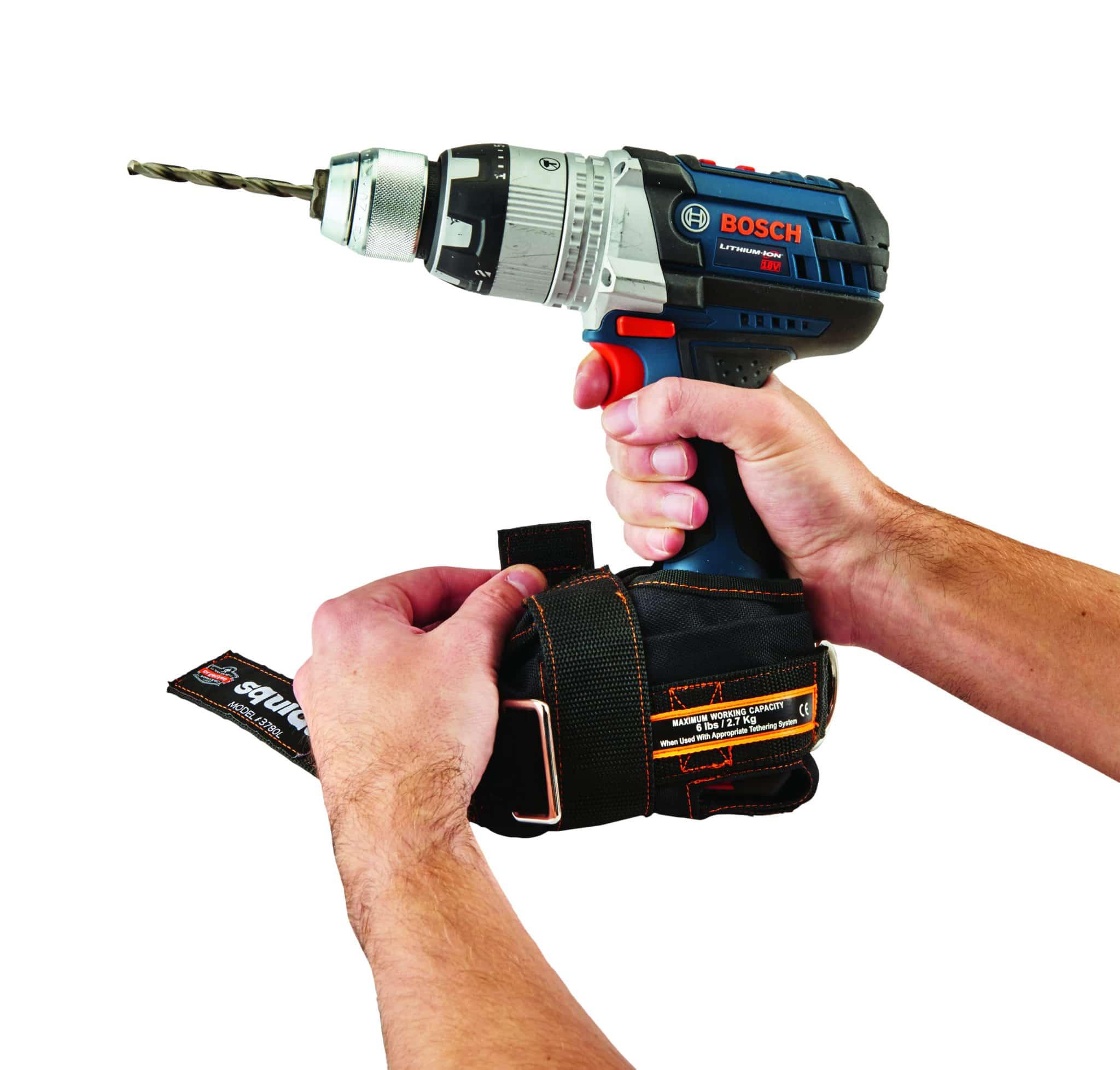 Amarre herramientas eléctricas