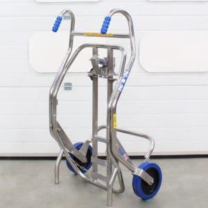 Carro ergonómico para transporte y manipulación de bidones DTC01
