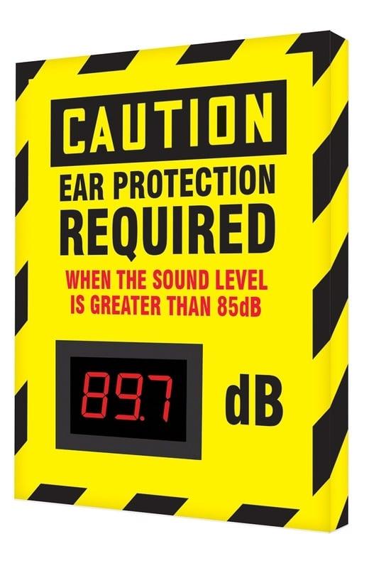 Señal medidor ruido
