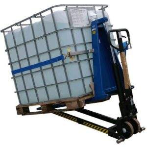 Inclinador de contenedores IBC