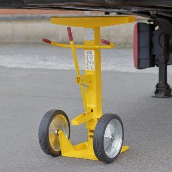 Soporte para trailers para evitar accidentes