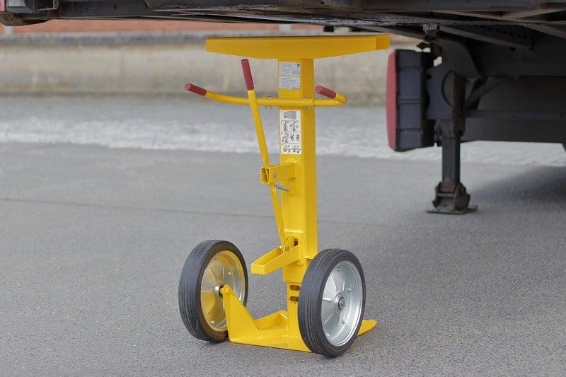 Soporte para trailers para evitar accidentes
