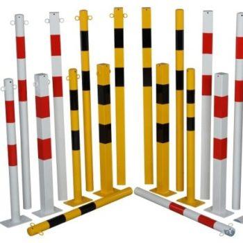 postes separadores con cadena