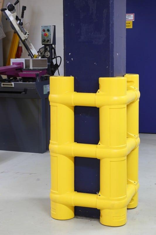 Protector de columna modular -