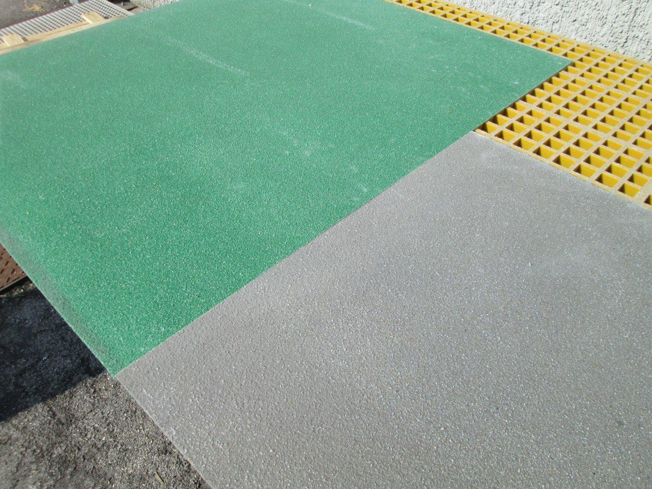 Antideslizantes de plástico de fibra de vidrio