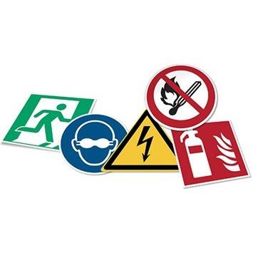 señales de seguridad industrial ISO70