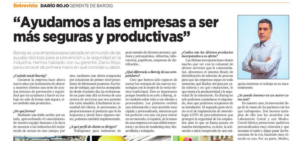 Baroig - Entrevista La Vanguardia