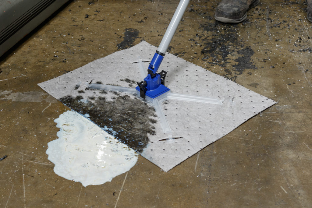 absorbente industrial para derrames