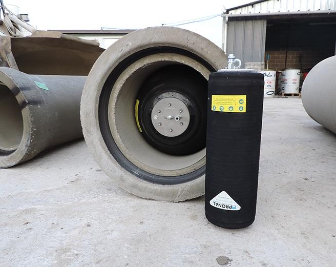 Obturador inflable para tuberías