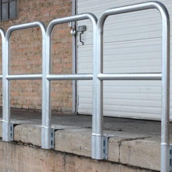 Barandilla galvanizada para rampas - portada