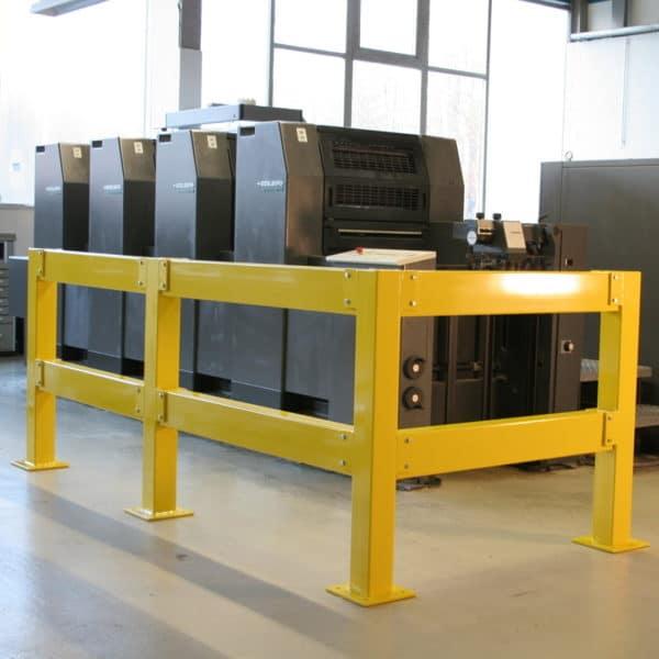Barandilla modular de seguridad de acero