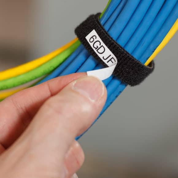 Cinta de cierre para cables