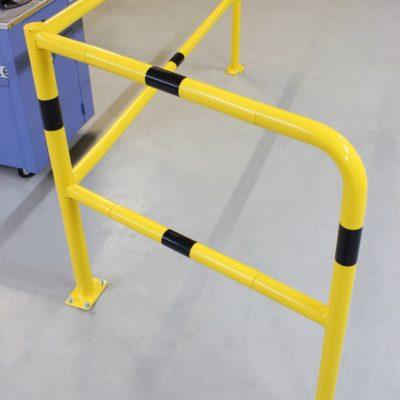 Sistema de barandillas modulares tubulares de acero (4)