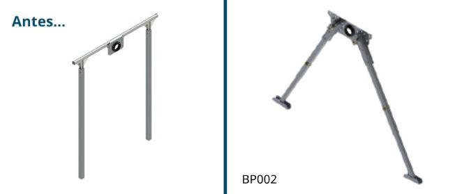 Nuevo brazo de reacción BP002