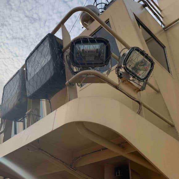 Redes de seguridad para la prevención de la caída de objetos