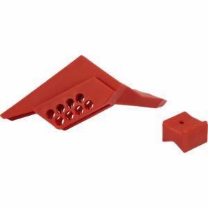 Sistema de bloqueo de válvulas con palanca
