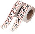 Etiquetas para tuberías RinoPipe GHS