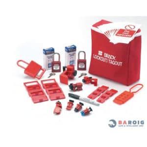 Kit de sistemas de bloqueo de dispositivos eléctricos