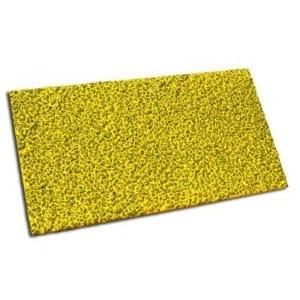 Placa metálica antideslizante rectangular para superficies planas