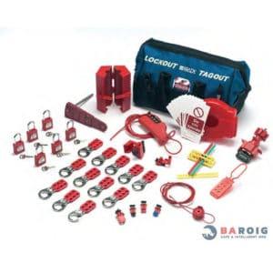 kit de sistemas de bloqueo de dispositivos eléctricos y válvulas