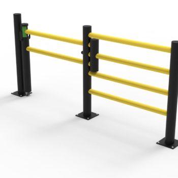 Puerta corredera flexible
