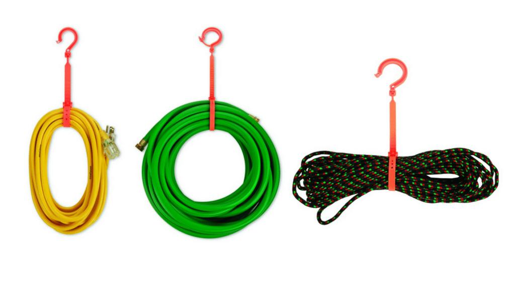 Gancho para cuerdas, mangueras, cables y tuberías – Gancho de bloqueo
