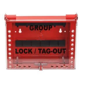 Caja de bloqueo para grupos de 26
